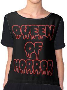 Queen Of Horror Chiffon Top