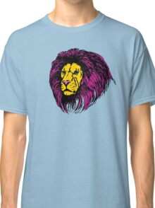 Lion Modern Pop Colors Classic T-Shirt