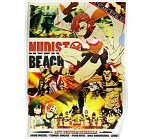 Nudist Beach Poster
