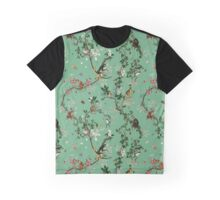 Monkey World Green Graphic T-Shirt