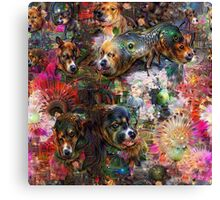 Dogs & Dreams Canvas Print