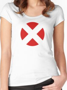 X-Men (Open X - Red) Women's Fitted Scoop T-Shirt
