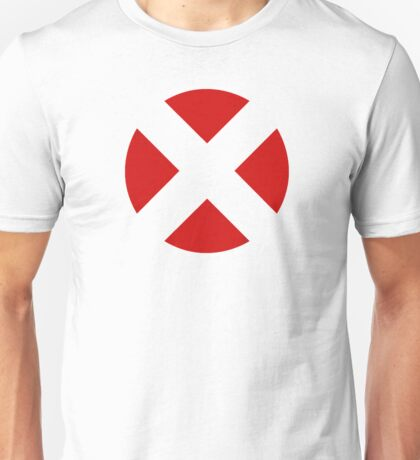 X-Men (Open X - Red) Unisex T-Shirt