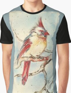 With Touches of Red Graphic T-Shirt