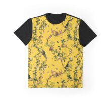 Monkey World Yellow Graphic T-Shirt