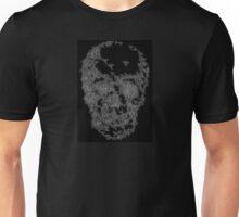 Skull of flies, in black Unisex T-Shirt