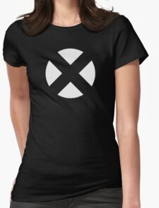 X-Men (Open X - White) Womens Fitted T-Shirt