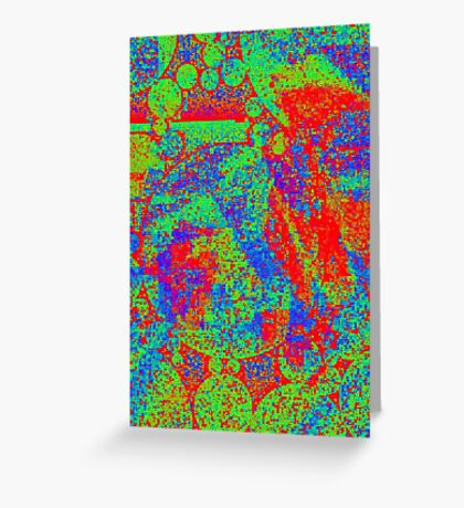 Rainbow Rupture Greeting Card