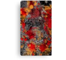 Red Filthy Canvas Print