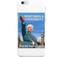Are we scared yet? iPhone Case/Skin