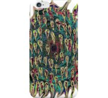 Vortex to hell with lots of color change iPhone Case/Skin