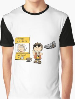 Peanuts Back 2 The Future Graphic T-Shirt