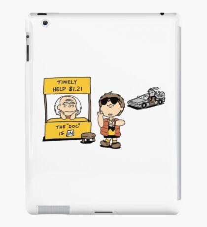 Peanuts Back 2 The Future iPad Case/Skin