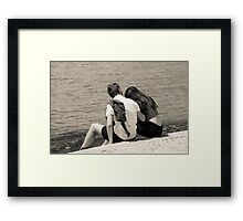 A Moment of Intimacy Framed Print