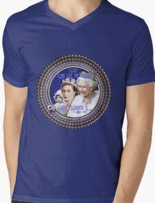 Queen Elizabeth, Happy 90th Birthday-Collector Design Mens V-Neck T-Shirt