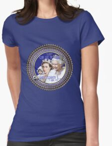 Queen Elizabeth, Happy 90th Birthday-Collector Design Womens Fitted T-Shirt