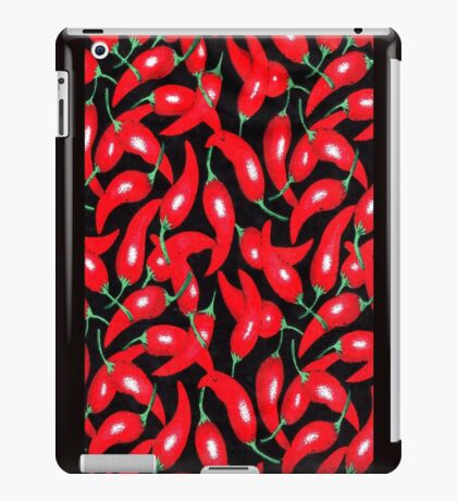 Red Hot Peppers iPad Case/Skin