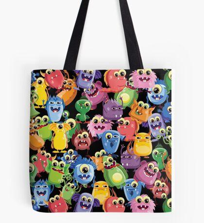 cute monsters Tote Bag