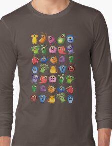 cute monsters Long Sleeve T-Shirt