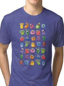 cute monsters Tri-blend T-Shirt