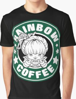 Rainbow Coffee Graphic T-Shirt
