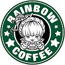 Rainbow Coffee by Ellador
