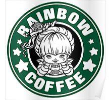 Rainbow Coffee Poster
