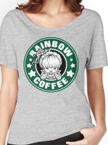 Rainbow Coffee Women's Relaxed Fit T-Shirt
