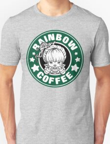 Rainbow Coffee Unisex T-Shirt