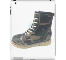 Army boot iPad Case/Skin
