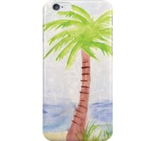 Palm Tree Watercolor iPhone Case/Skin