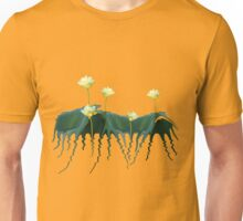 Peaceful Zen Garden Lotus Flowers Unisex T-Shirt