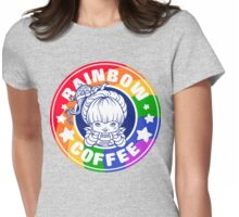 Rainbow Coffee - Special Edition  Womens Fitted T-Shirt