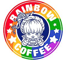 Rainbow Coffee - Special Edition  Photographic Print