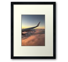 Wing view Framed Print