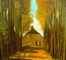'Autumn' by Vincent Van Gogh (Reproduction) Sticker
