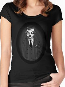 Gomez Addams Women's Fitted Scoop T-Shirt