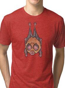 Lesser horseshoe bat Tri-blend T-Shirt