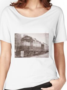 Vintage Railroad 2 Women's Relaxed Fit T-Shirt