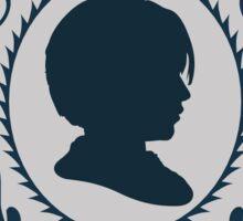 Arya Stark Silhouette Sticker