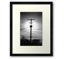 Exposure Framed Print