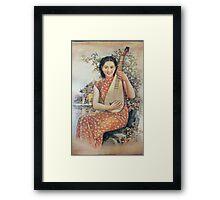 japanese girl 2 Framed Print