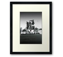 urban monster Framed Print