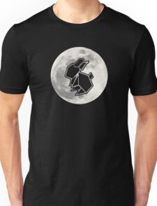 To The Moon : Rabbit Unisex T-Shirt