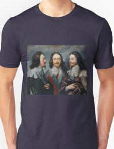 Vintage famous art - Anthony Van Dyck - Charles I Unisex T-Shirt