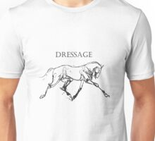 Dressage Horse Unisex T-Shirt