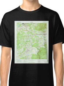 USGS TOPO Map Alabama AL Munford 304645 1956 24000 Classic T-Shirt