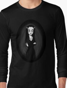 Morticia Addams Long Sleeve T-Shirt