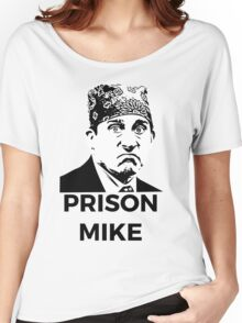 Prison Mike - The Office (U.S.) Women's Relaxed Fit T-Shirt