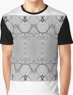 347 DuelingSpiders Graphic T-Shirt